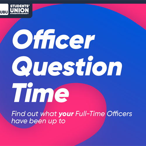 Officer Question Time