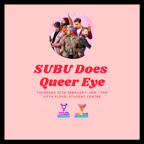 SUBU Does Queer Eye