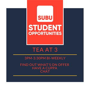Student Opportunities Tea at 3