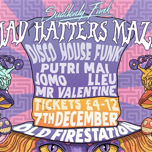 Suddenly Funk: Mad Hatter's Maze 4th Birthday