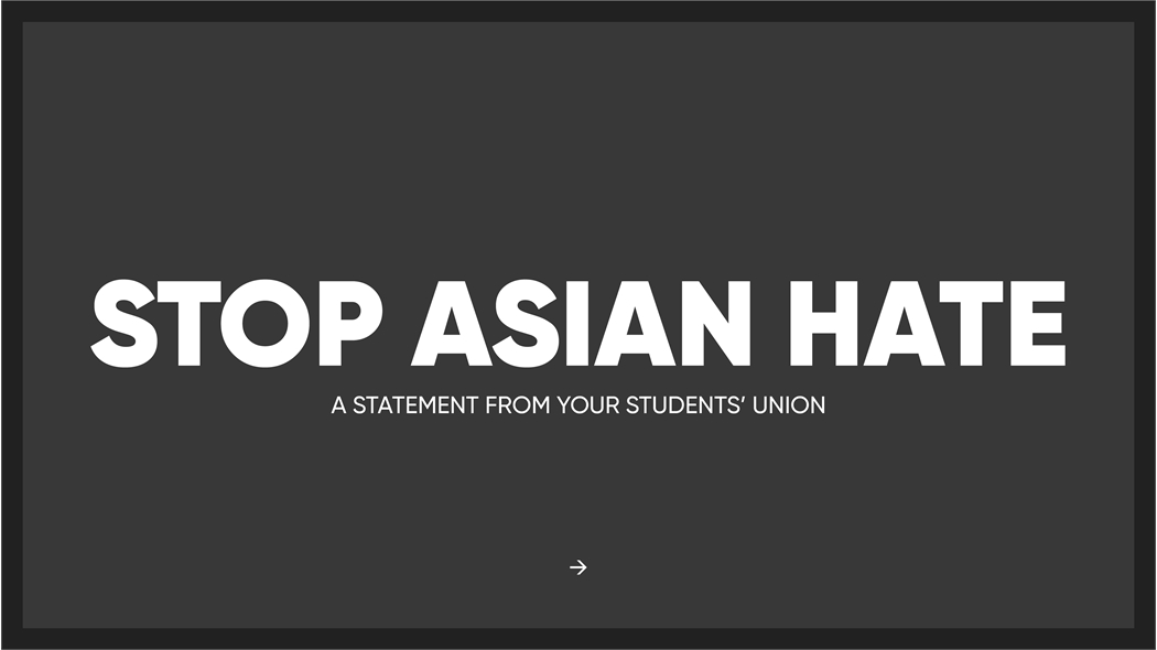 Stop Asian Hate Statement