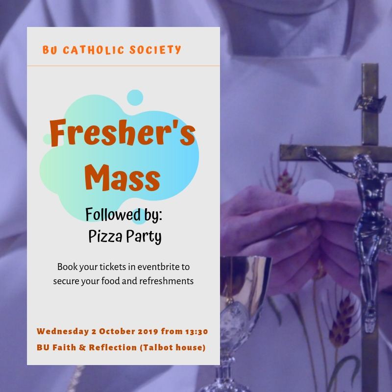 Get your tickets on https://www.eventbrite.co.uk/e/freshers-mass-pizza-party-tickets-74291276207?ref=eios