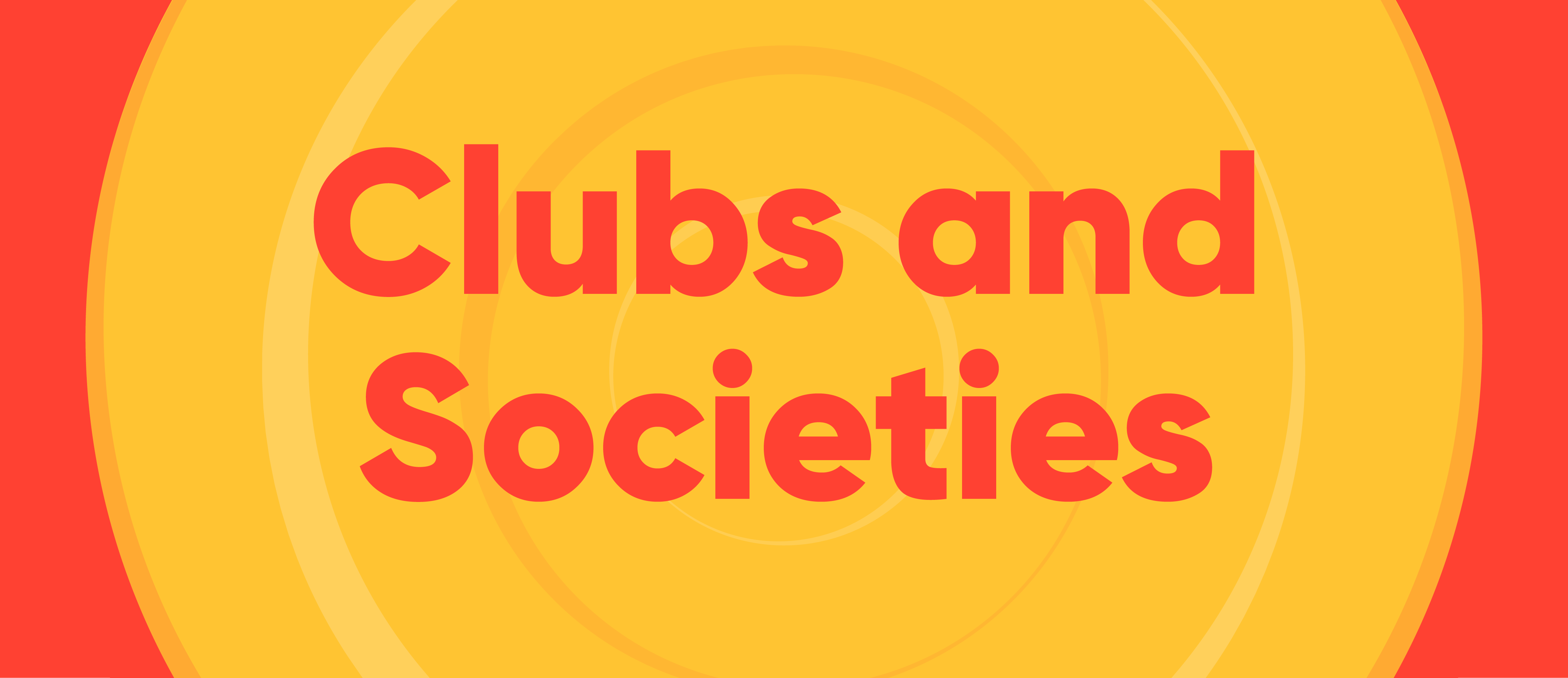Clubs & Societies