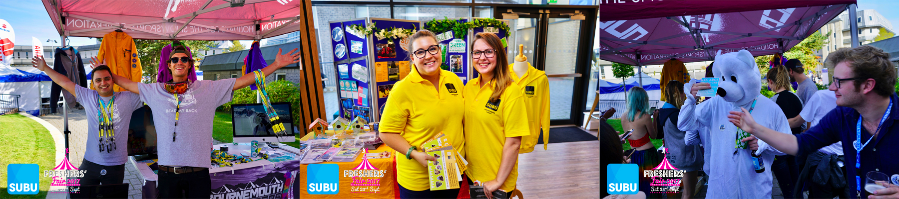 Freshers Fair Photos